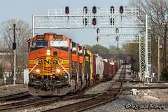 BNSF 4623 | GE C44-9W | BNSF Thayer South Subdivision
