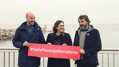 Vie, 16/02/2018 - 11:08 - L'alcaldessa explica el suport de l'Ajuntament de Barcelona a les ONG que fan rescat de persones refugiades al Mediterrani