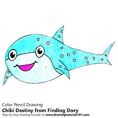 Chibi Destiny from Finding Dory
