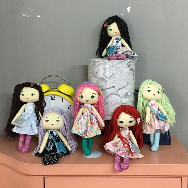 Workshop Basic Mini Doll Bersama Funwerk hasil peserta | Hola Darla