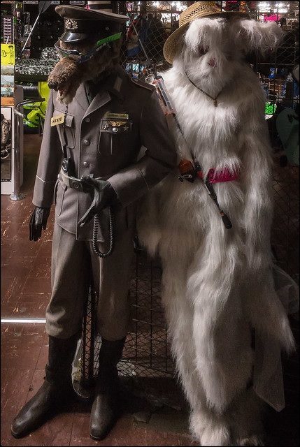 Wolf and Friend • Fashions for the Times
