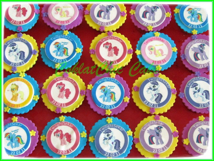 Cupcake edible Image My Little Pony