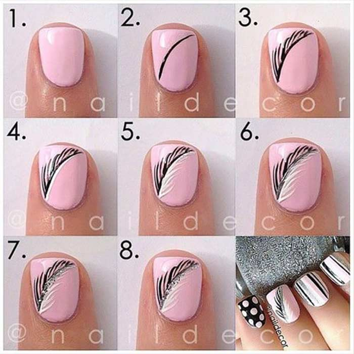 Latest Nail Art Designs For Short Nails 2018 - Short Nails Designs 2018