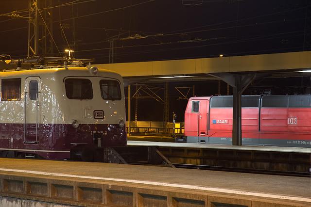Euro Express 110 169 + DB 181 213