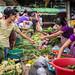Myanmar(Burma)/Yangon: Farmer's market by Zen Voyager