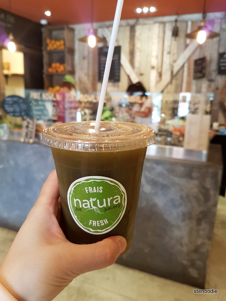 Natura Juicery green juice
