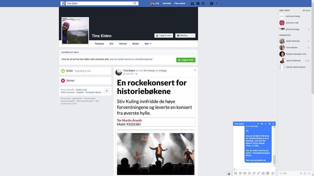 mer fra facebook tina elden