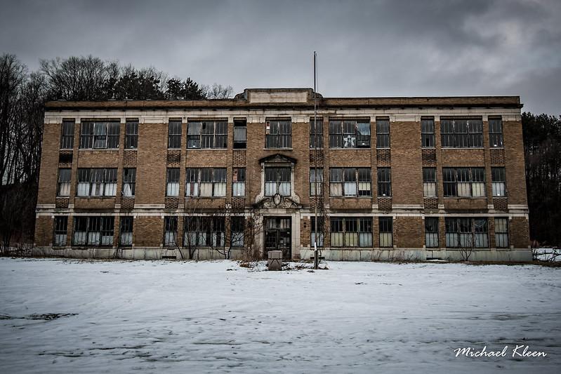 Abandoned School in Newport