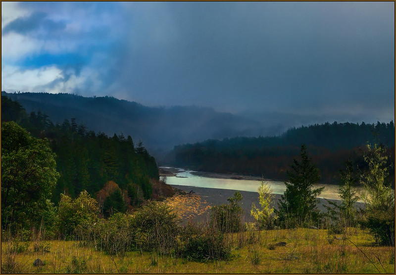 Storm over the Eel River