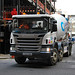 Scania cement mixer