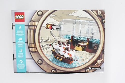 LEGO Ideas Ship in a Bottle (21313)