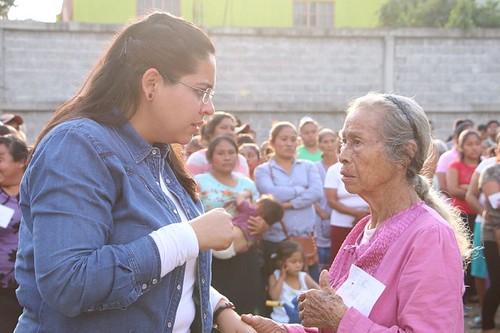 Trabajemos por un entorno seguro para nuestras familias: Lupita Vargas