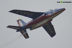 E165 8 F-TERE - E165 - Patrouille de France - French Air Force - Dassault-Dornier Alpha Jet E - RIAT 2013 Fairford - Steven Gray - IMG_4805