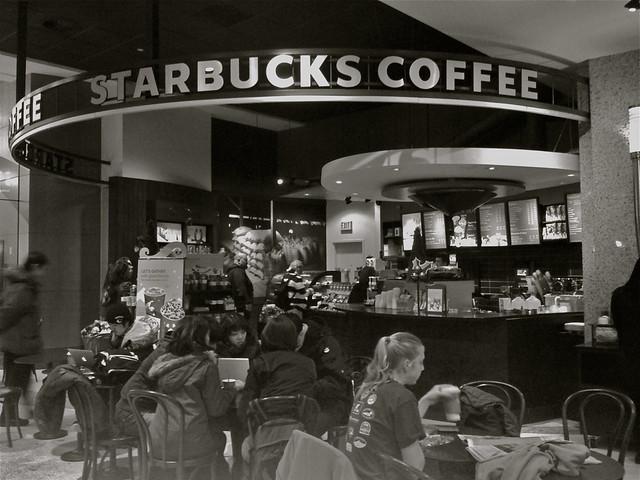 Làn sóng cà phê thứ hai - Starbucks coffee