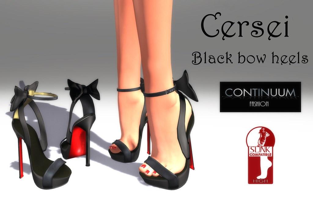 Continuum Cersei Black ADV - TeleportHub.com Live!