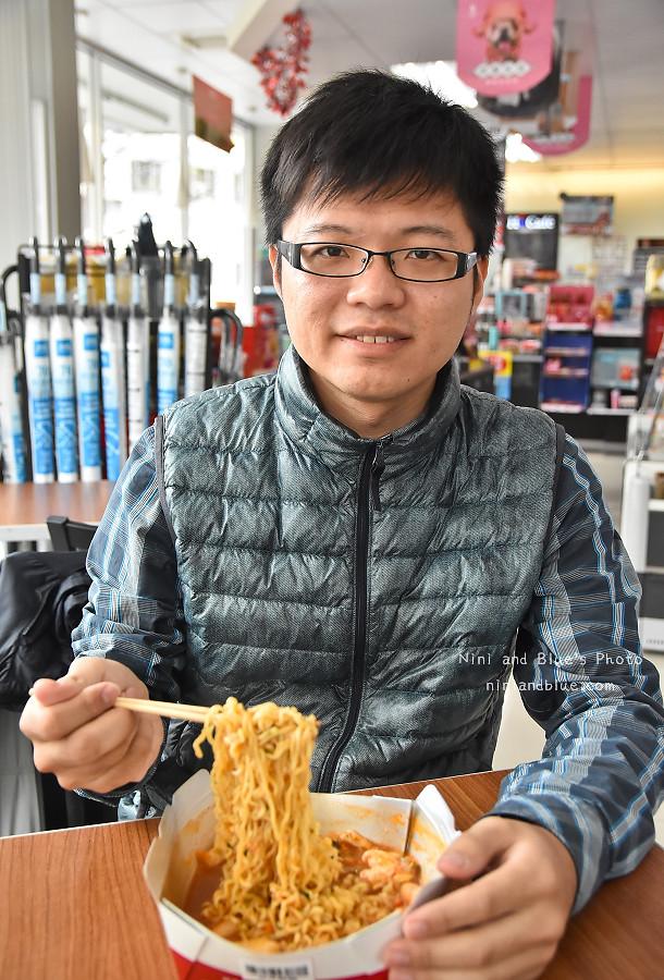 萊爾富 韓國泡麵機18