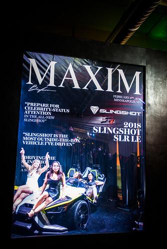 Maxim Party, Minneapolis, MN, February, 2018