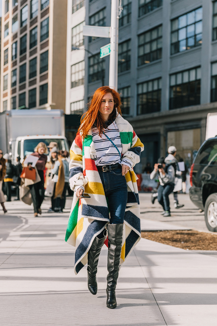 Best Street Style at New York Fashion Week Fall 2018 trend street style fashion outfit 201814