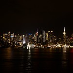 Manhattan skyline from Hamilton Park