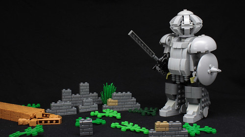Lego Dark Souls Siegmeyer of Catarina MOC