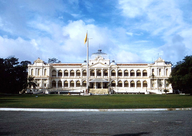 Saigon 1961 - Dinh Độc Lập - Presidential Palace during the first Republic of Vietnam.