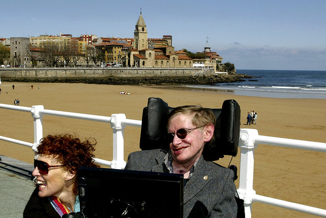 Professor Stephen Hawking: Life in pictures