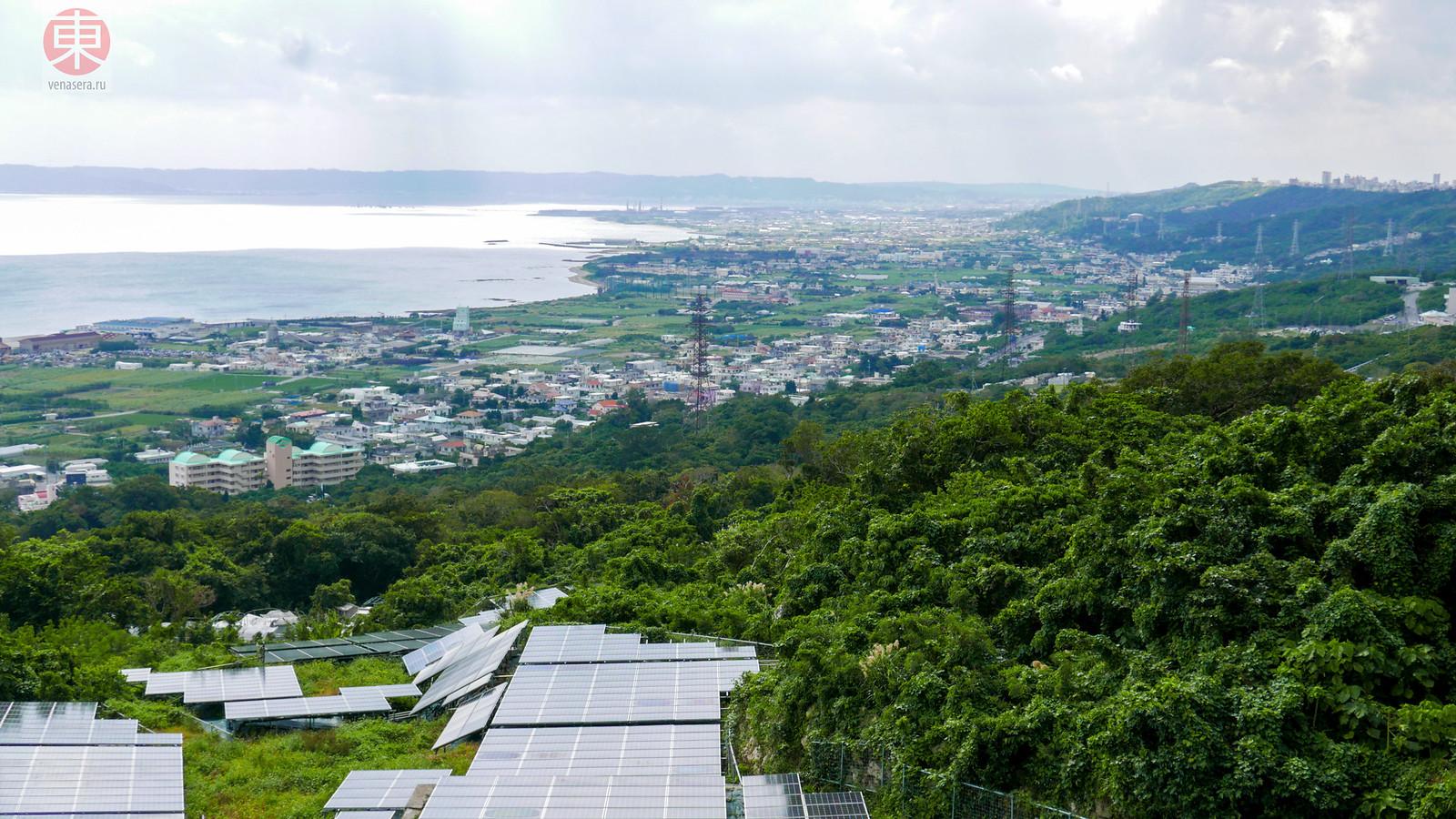 Развалины Замка Накагусуку, Окинава, Япония