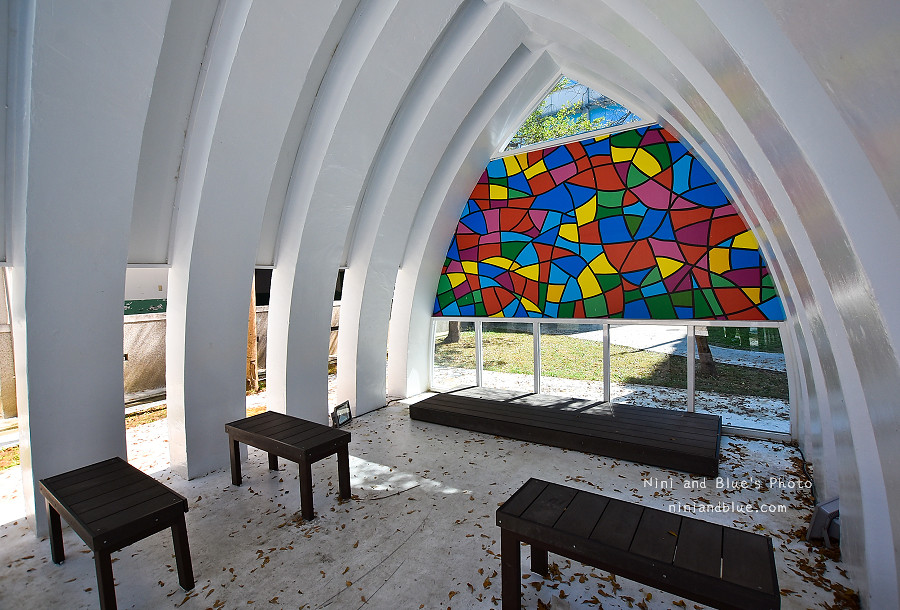 霧峰景點.彩繪玻璃教堂15