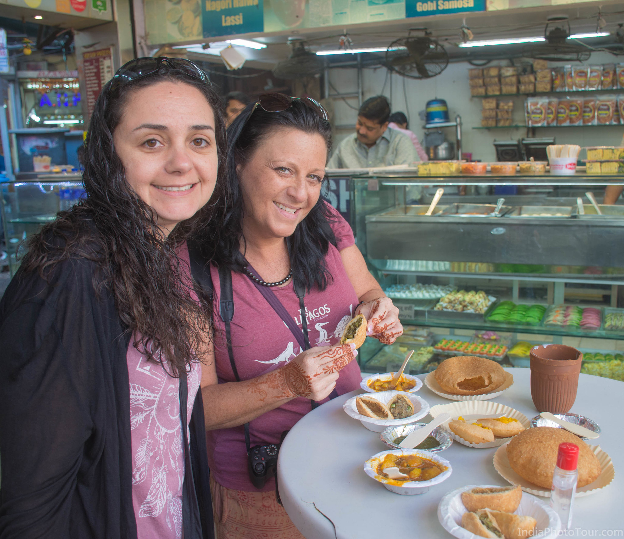 Starting with some street food in Old Delhi
