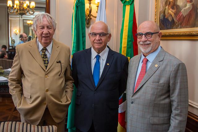 Homenagem Presidente Romildo Bolzan Jr