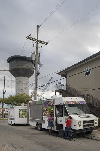 Food Truck, Water Tower