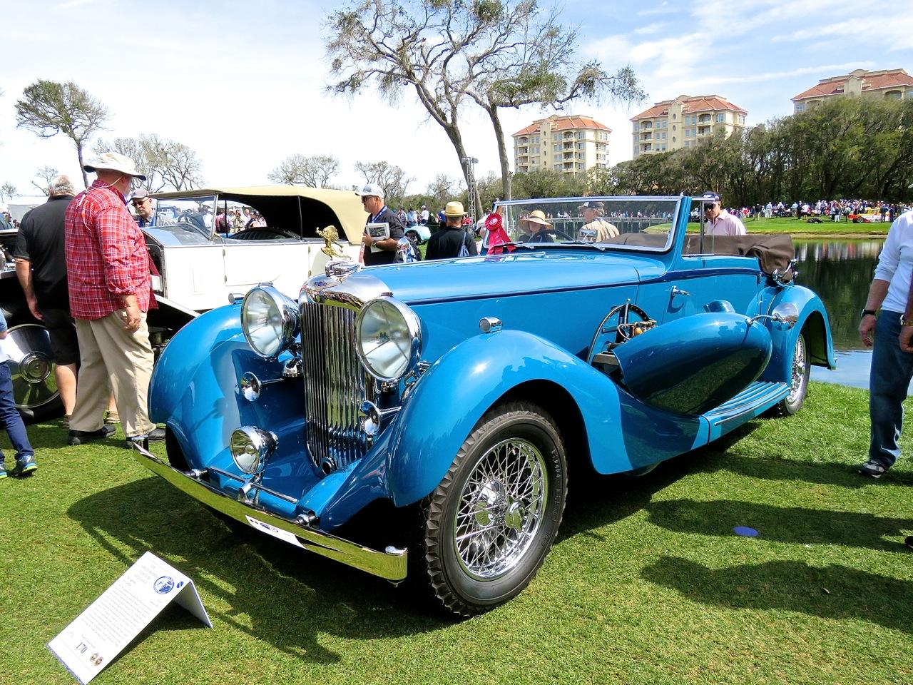 1936 Lagonda LG45 Amelia 10