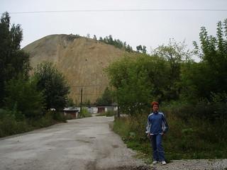 Отвалы в г. Дегтярске