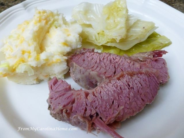 Corned Beef at From My Carolina Home