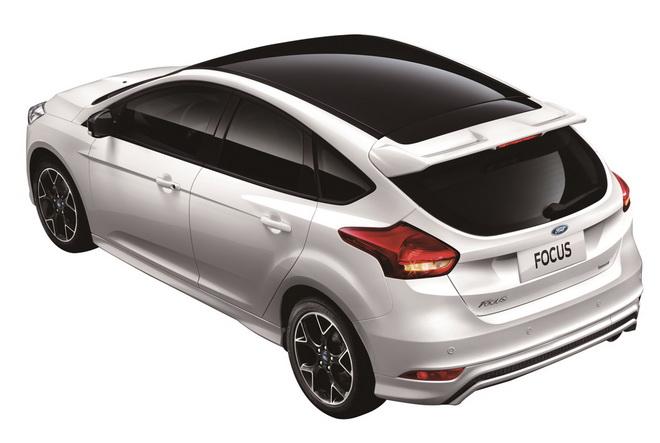 【圖二】New Ford Focus黑潮特仕版黑白勁裝上身