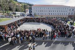 08/03/2018 - Deusto se ha sumado a los paros convocados por el 8 de marzo con la concentración 'Nosotras paramos. Emakumeok* planto. Si paramos todas, paramos todo'