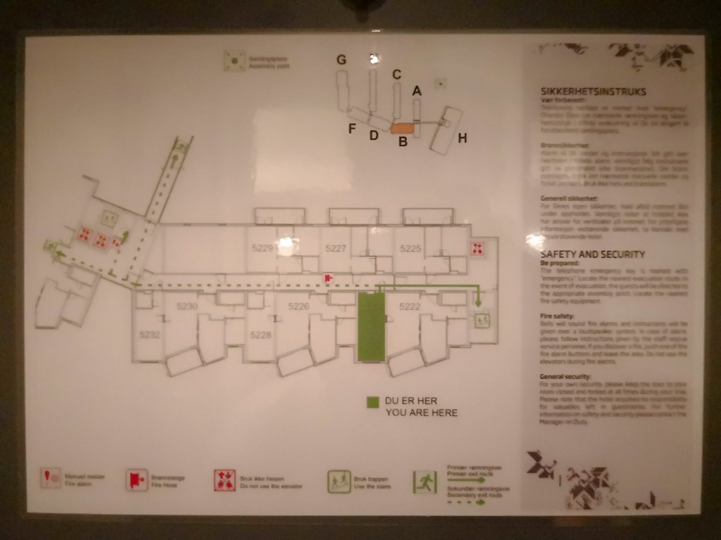 Resort floor plan