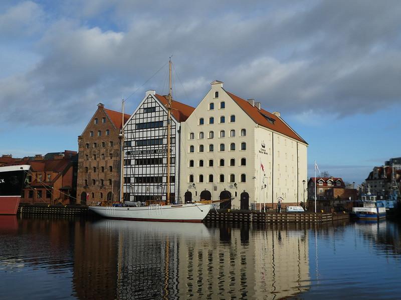 Gdańsk riverside