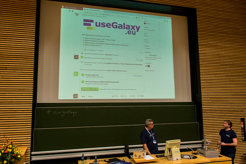 Galaxy User Conference - Freiburg - 2018 - Day 1