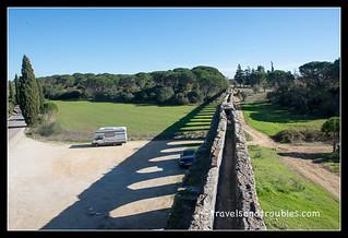 Pegões aquaduct