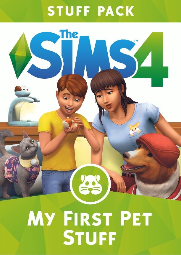 Render e Capa do The Sims 4 Meu Primeiro Bichinho