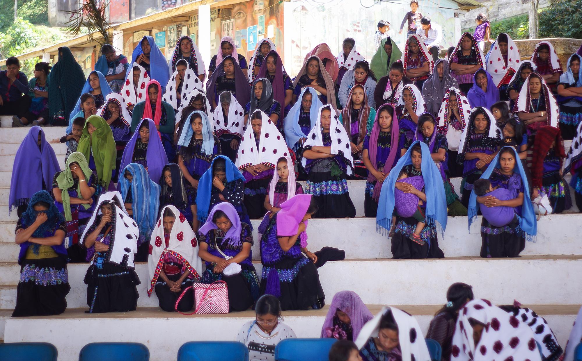Foto: Mario Marlo/Somoselmedio.org Mujeres Abejas de Acteal