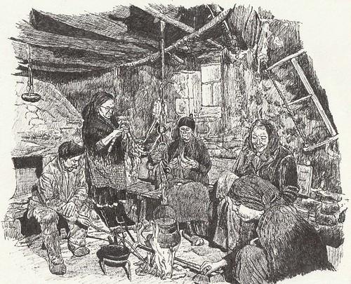 Interior casa de pastores