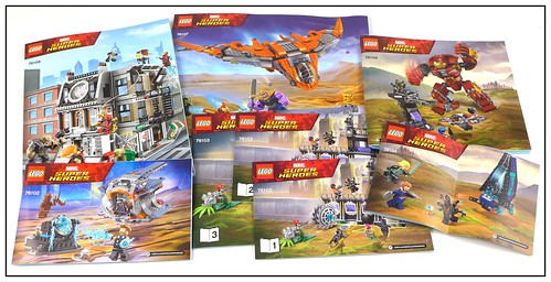 LEGO 2018 Marvel Super Heroes Avengers Infinity War box 29