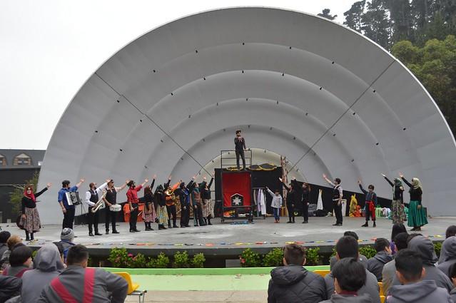 """Obra """"Santa Petronila"""" Compañía de Teatro de Masas"""