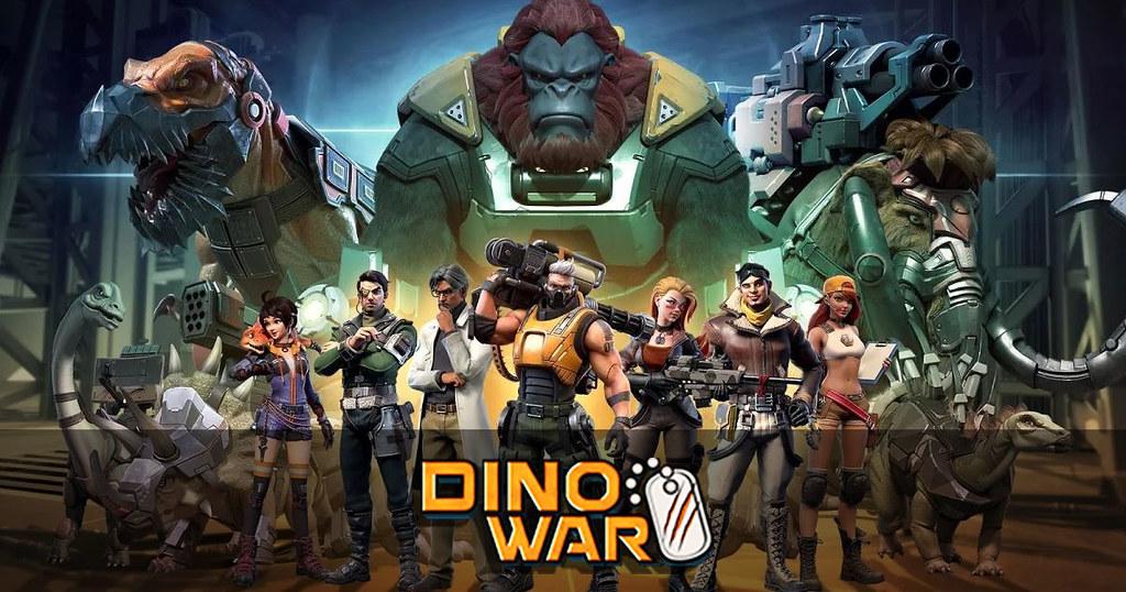 Dino War เกมส์มือถือใหม่ล่าสุดเปิดให้ลงทะเบียนล่วงหน้าแล้ว