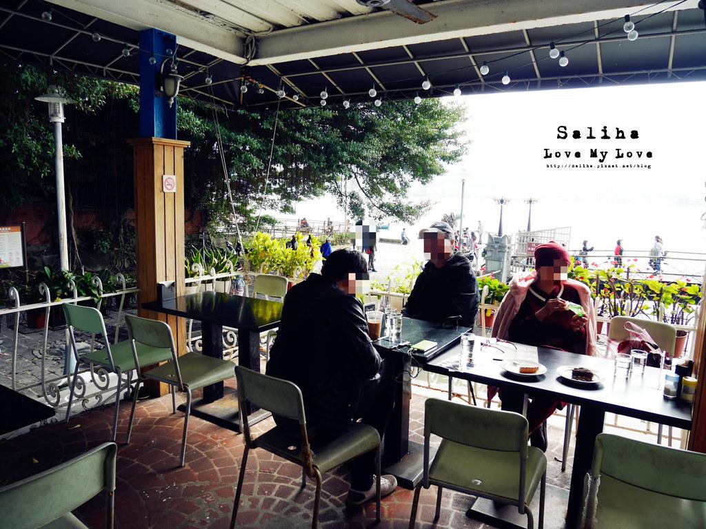 淡水老街景觀餐廳Pescador Cafe 漁夫先生 (11)