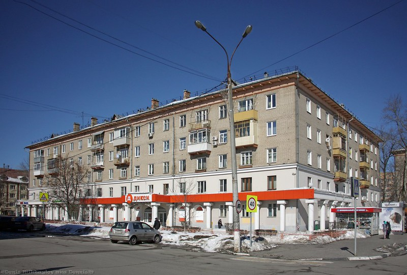 Королёв, Октябрьская улица.
