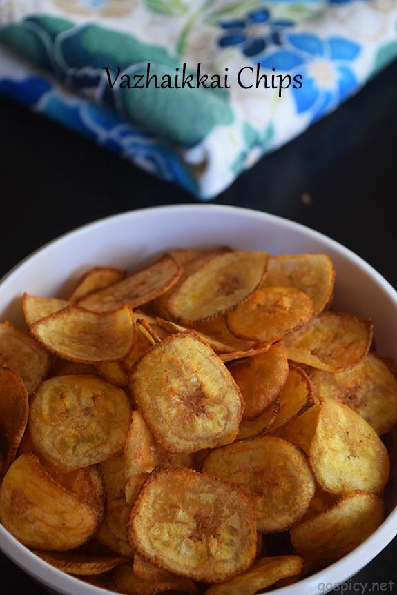 Vazhakkai / Plantain Chips Recipe by GoSpicy.net