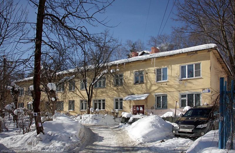 Ивантеевка, Оранжерейная улица.
